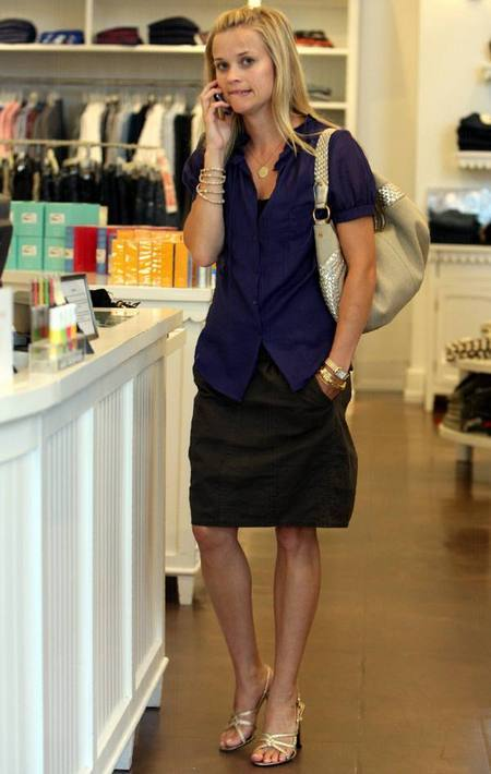 of Reese Witherspoon, and I was a little thrown. Is she losing weight?